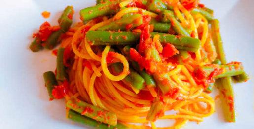 spaghetti_fagiolini_1